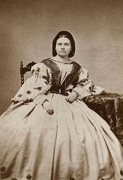 Betty Pettersson. Fotograf och år okänt. Bildkälla: Stockholms stadsmuseum
