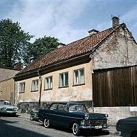 Exteriör av huset Brännkyrkagatan 64.