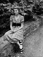 Skådespelaren Ingrid Bergman.