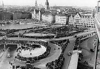 Slussinvigningen oktober 1935.