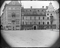 Jakobs Torg, västra sidan.