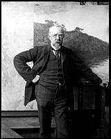 Porträtt av professor Kallstenius