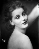 Porträtt av Greta Garbo, 1924.