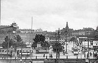 Karl Johans torg mot Södermalm.