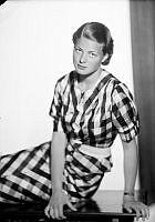Porträtt av skådespelerskan Ingrid Bergman.