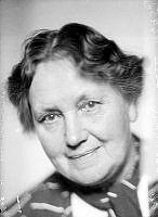 Porträtt av kvinna, Björkman.