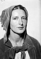Porträtt av kvinna, Cronstedt.