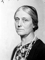 Porträtt av kvinna, Falkman.