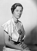 Porträtt av kvinna, Geijer.