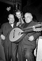 Alice Babs, Evert Taube och Sven-Olof Sandberg