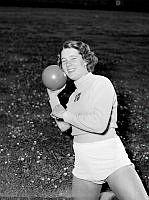 Svenska VM-gymnasten Ann-Sofie Pettersson.